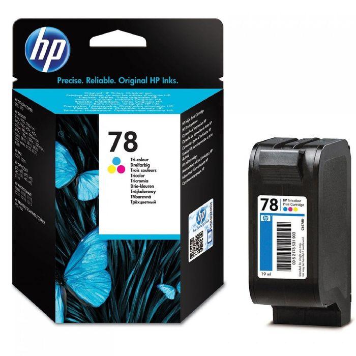 Картридж струйный HP №78 C6578D многоцветный для HP DJ 9xxC/DJ3820/6122/6127/PS1xxx