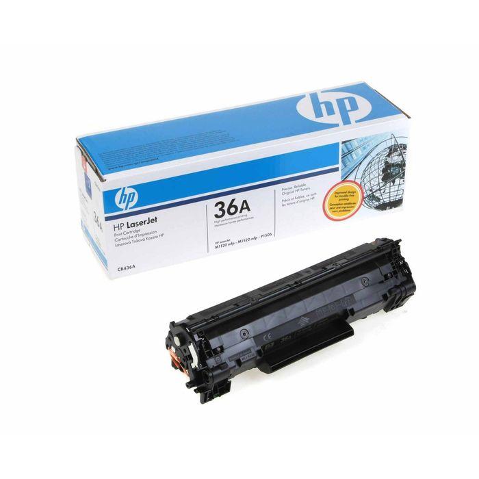 Тонер Картридж HP 36A CB436A черный для HP LJ M1522x/M1120x/P1505x (2000стр.)