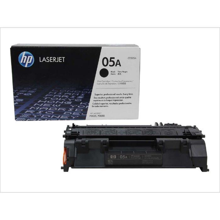 Тонер Картридж HP CE505A черный для HP LJ P2035/2055 (2300стр.)
