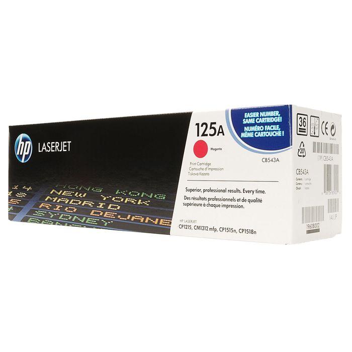 Тонер Картридж HP 125A CB543A пурпурный для HP CLJ CP1215/CP1515/CP1518 (1400стр.)