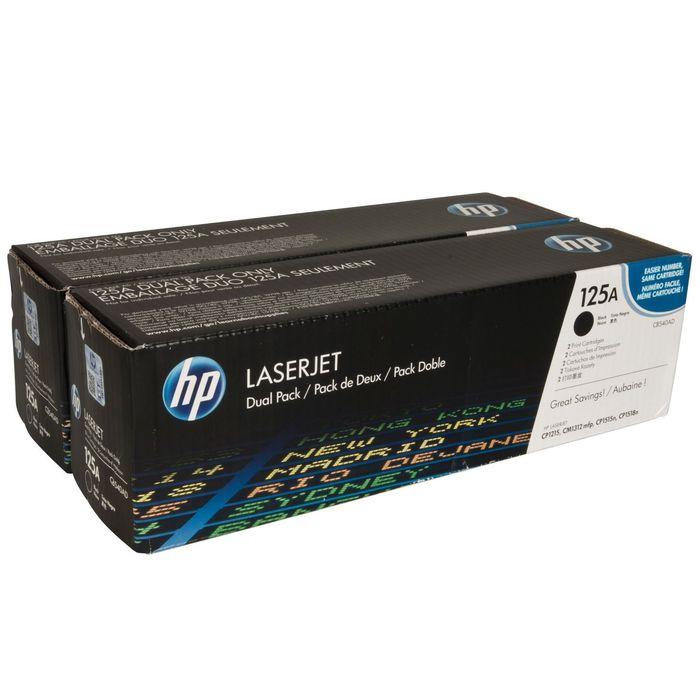Тонер Картридж HP 125A CB540AD черный x2уп. для HP CLJ CP1215/CP1515/CP1518 (4400стр.)
