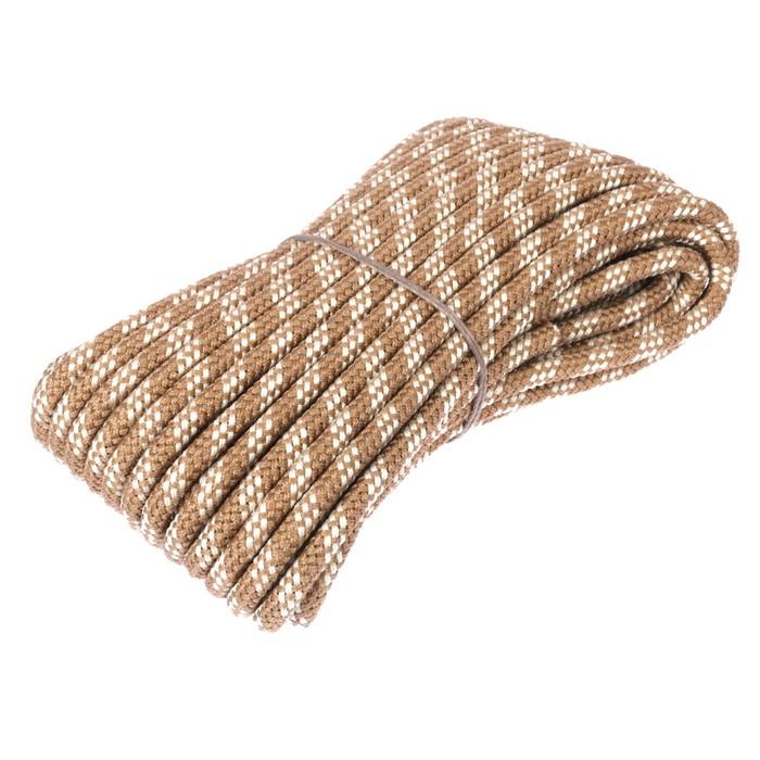 Шнур плетеный полипропиленовый, 24 прядный d=10 мм (длина 20 м), цвет МИКС