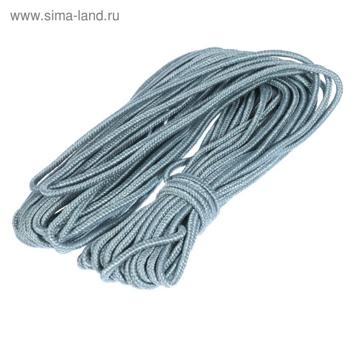 Шнур плетеный полипропиленовый, 8 прядный d=5 мм (длина 20 м), цвет МИКС