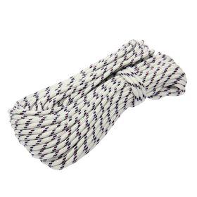 Шнур полипропиленовый, плетеный d=6 мм (длина 20 м) Ош