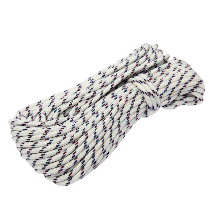 Шнур полипропиленовый, плетеный d=6 мм, длина 20 м