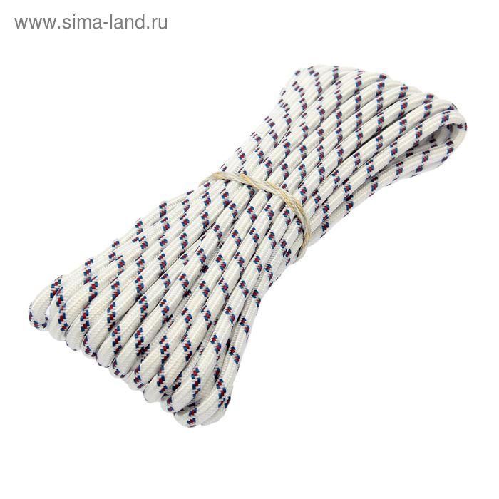 Шнур полипропиленовый, плетеный d=8 мм (длина 10 м)