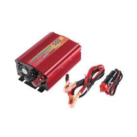 Преобразователь напряжения TORSO TP-24-500, 24/220 В, 500 Вт, USB выход