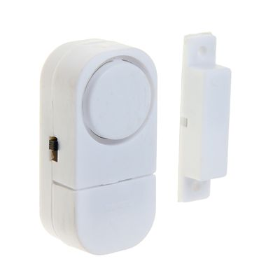 Alarm of opening the door LuazON, mod VM-7, AG10 cell batteries included, white