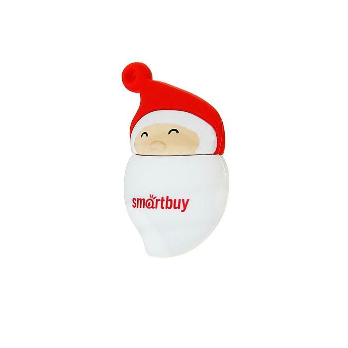 Подарочная USB-флешка Smartbuy 8GB NY series Santa-A