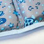 Матрасик на пеленальный комод, 750х670, голубой МИКС - фото 105550037