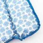 Матрасик на пеленальный комод, 750х670, голубой МИКС - фото 105550039