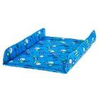 Матрасик на пеленальный комод, 750х670, голубой МИКС - фото 105550043