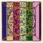 Комплект струн для контрабаса Pirastro 349020 Passione Orchestra размером 3/4, сталь, ср. натяжение
