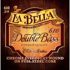 Комплект струн для контрабаса La Bella 610 размером 3/4, сталь