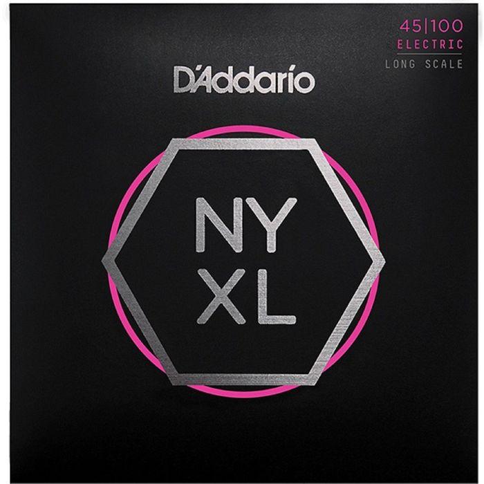 Комплект струн для бас-гитары D'Addario NYXL45100 NYXL