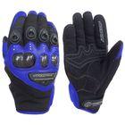 Кожаные перчатки Jet синий, S