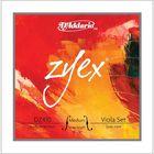 Комплект струн для альта D`Addario DZ410-MM Zyex, среднего размера, среднее натяжение