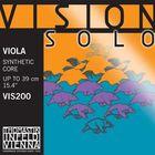 Комплект струн для альта Thomastik VIS200 Vision Solo размером 4/4, среднее натяжение