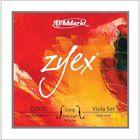 Комплект струн для альта D'Addario DZ410-LM Zyex большого размера, среднее натяжение