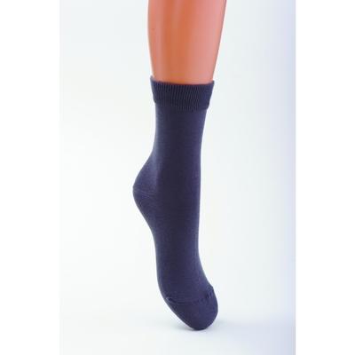 Носки детские, цвет чёрный, размер 18-20