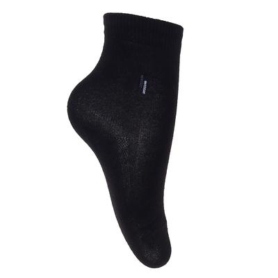 Носки детские, цвет чёрный, размер 20-22