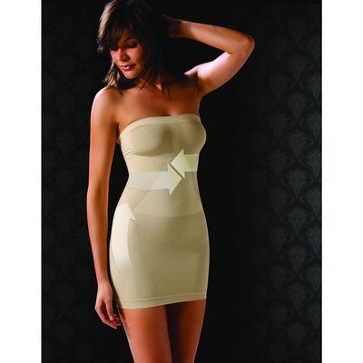 Моделирующее платье CB-TUBINO Control Body gold skin 2-S/M