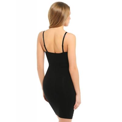 Моделирующее платье CB-Sottoveste S/S Control body plus nero 2-S/M