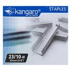 Скобы для степлера мощного №23/10 Kangaro, высококачественная сталь, 1000 штук - фото 2127519