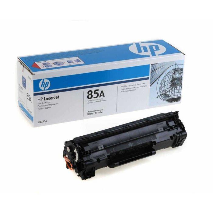 Тонер Картридж HP 85A CE285A черный для HP LJ P1102/P1102w (1600стр.)