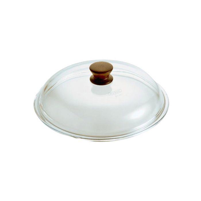 Крышка Pentolpress d24, жаропрочное стекло, ручка дерево