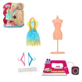 Набор для куклы 'Ателье', с утюгом, цвета МИКС Ош