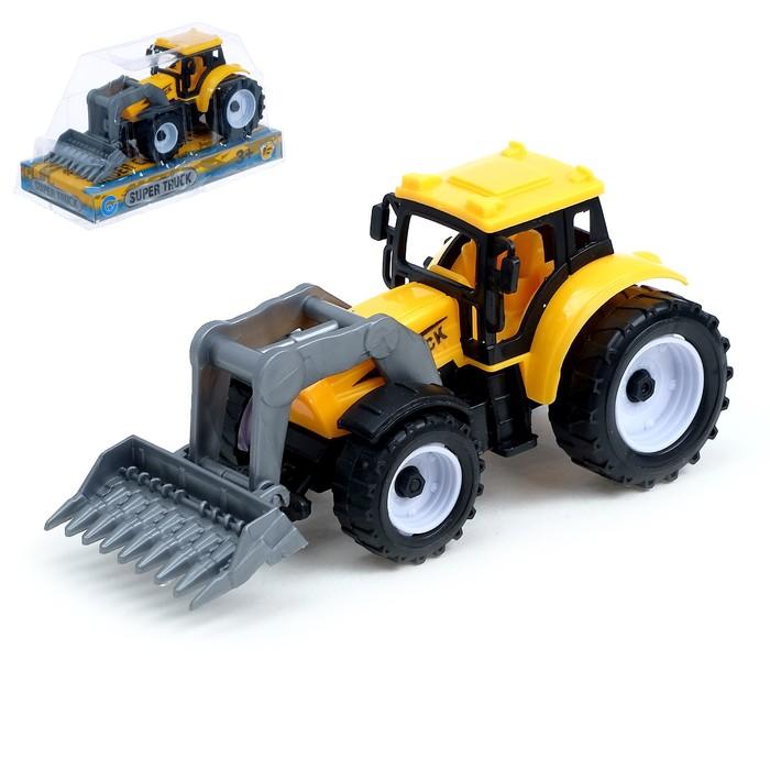Трактор инерционный «Фермер», МИКС - фото 76293487