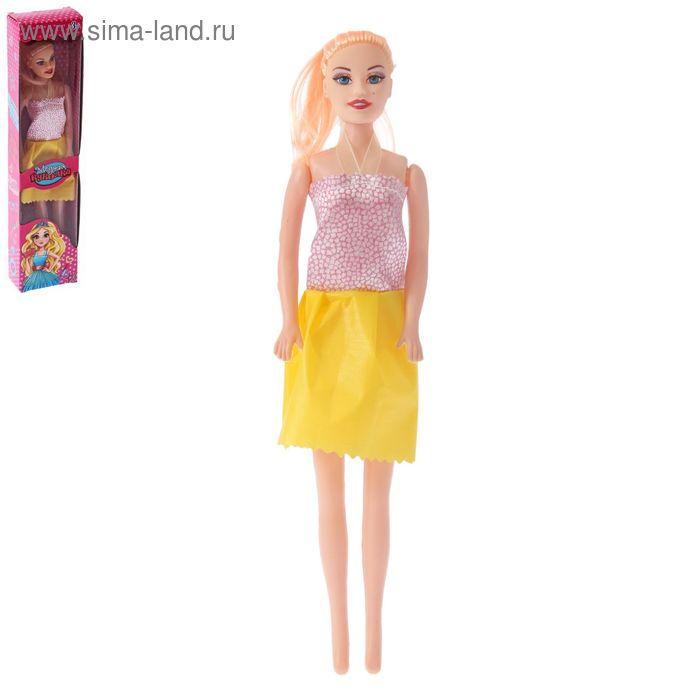 """Кукла модель """"В цветном платье"""", МИКС"""