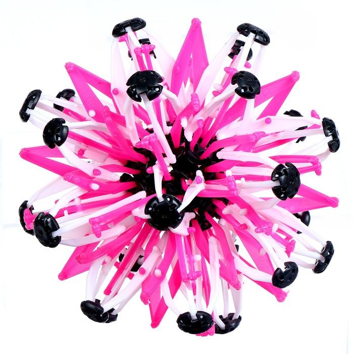 """Мяч-трансформер """"Иголка"""", цвет розовый"""