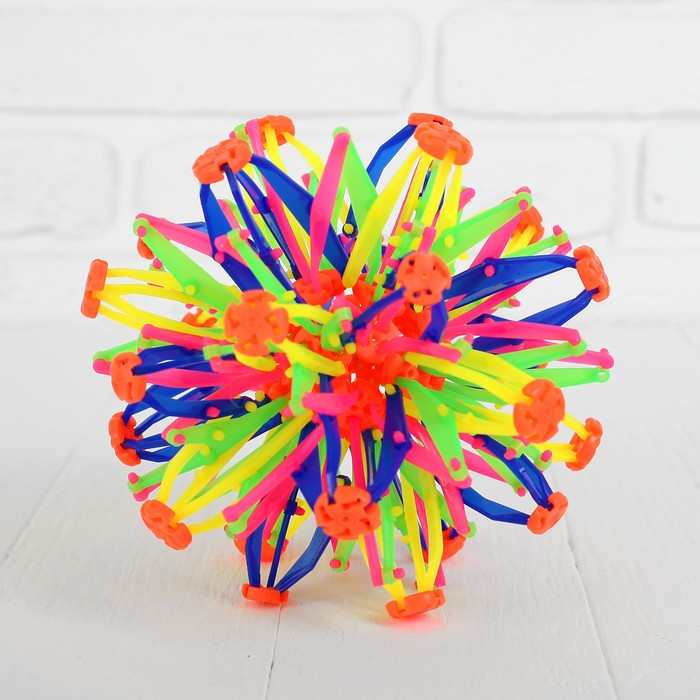 Мяч-трансформер «Иголка», цветной