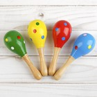 """Toy musical Maracas """"Peas and stripes"""", MIXED"""