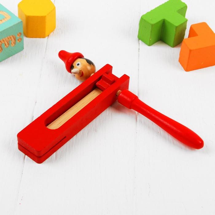 Игрушка музыкальная Трещотка, МИКС