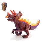 Динозавр радиоуправляемый T-Rex, световые и звуковые эффекты, работает от батареек - фото 1677657