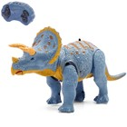 Динозавр радиоуправляемый «Трицератопс», световые и звуковые эффекты, работает от батареек