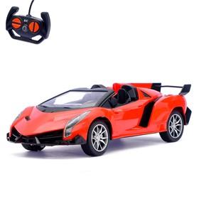 Машина радиоуправляемая «Кабриолет», световые эффекты, работает от батареек, масштаб 1:16, МИКС