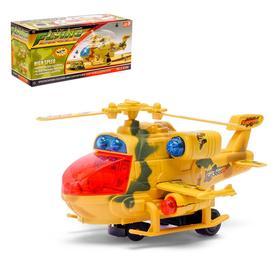 Вертолет «Воздушный бой», световые и звуковые эффекты, работает от батареек