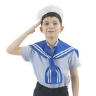 Костюм сюжетно-ролевой «Моряк», гюйс, бескозырка, р. 50, 4-6 лет