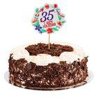 """Декор для торта """"С Днем Рождения, 35 лет"""""""