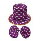 """Карнавальный набор """"Клоун"""", обхват головы 56-58 см, цвет фиолетовый"""