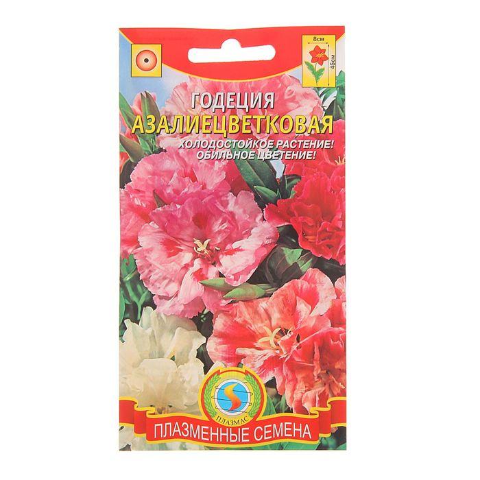 Семена Годеция азалиецветковая, махровая смесь, О, 0,2 г