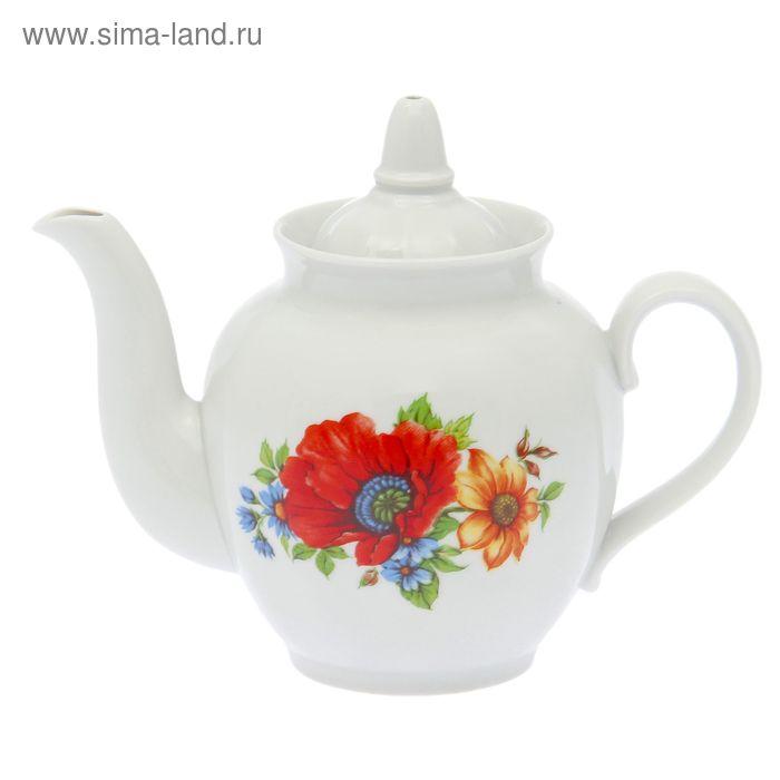 """Чайник 900 мл """"Полевой мак"""""""