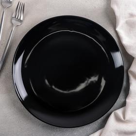 "Тарелка 27 см ""Чёрная"""