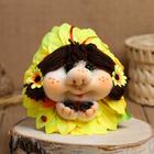 Сувенир кукла-попик «Подсолнух», микс