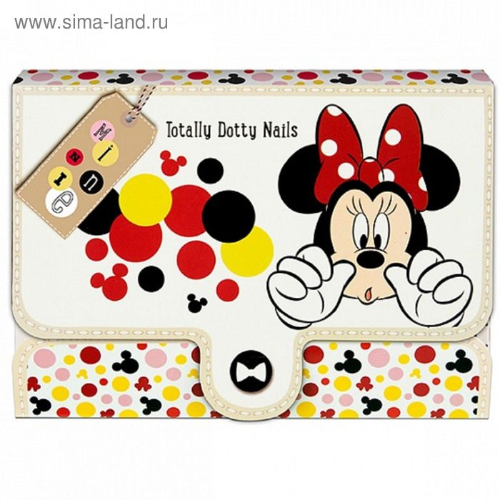 Набор детской декоративной косметики для ногтей Minnie
