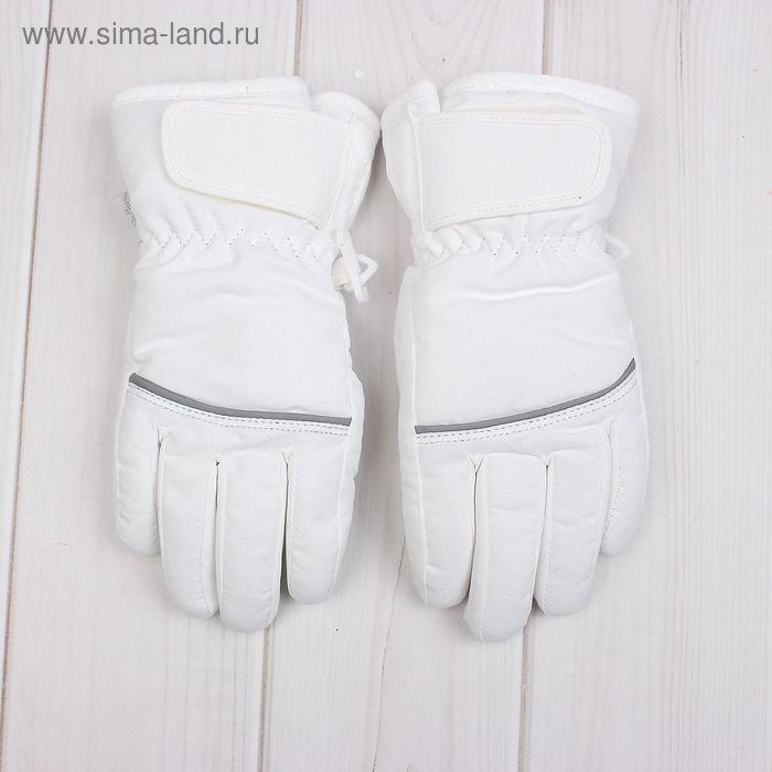 Перчатки детские, возраст 6-8 лет, цвет белый G-18